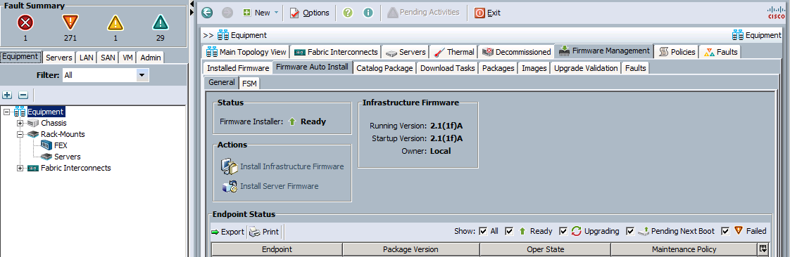 Cisco UCS Firmware Auto Install, Yes it Really Works! – Real World UCS