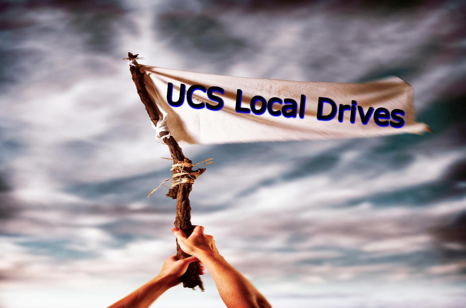 UCS Local Drives