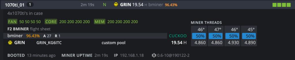 Grin Gold Miner Windows 10